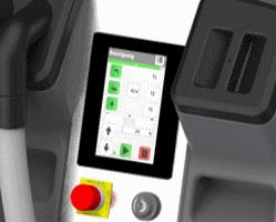 STEP 150 user interface